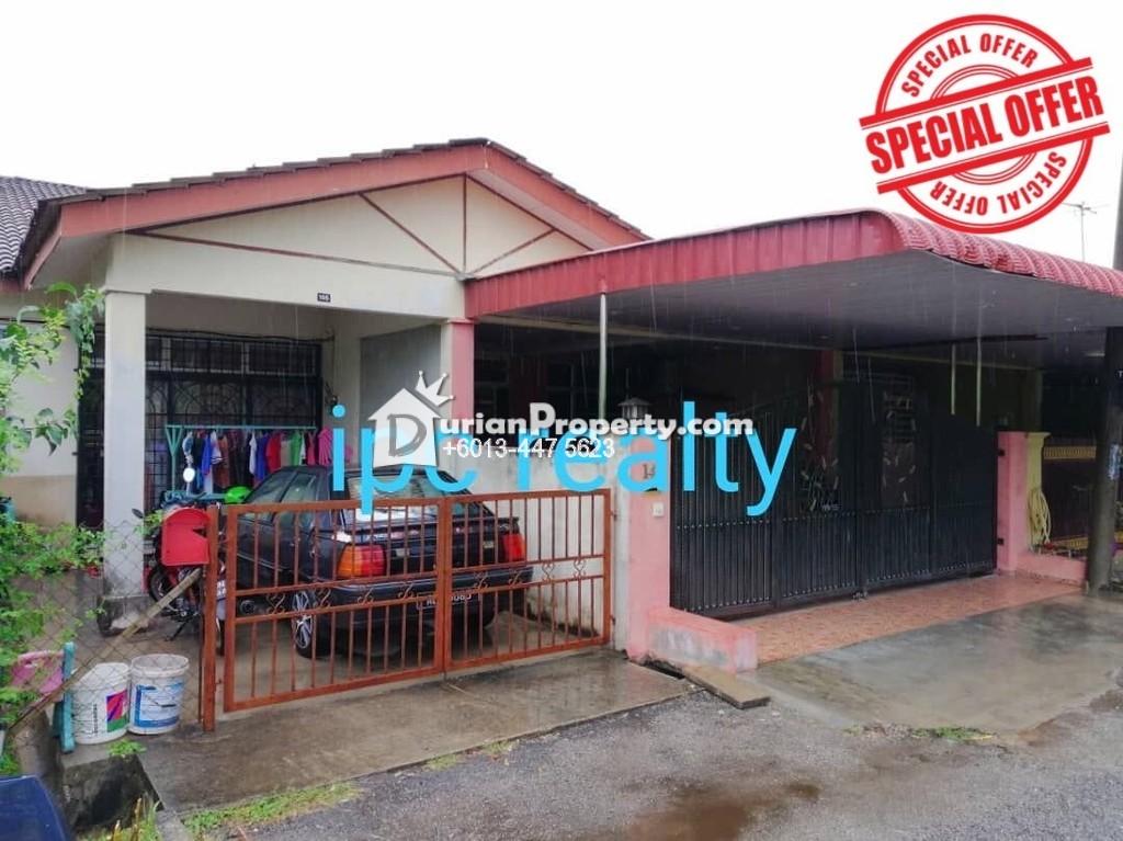 Terrace House For Sale at Taman Sinar Intan, Sungai Petani