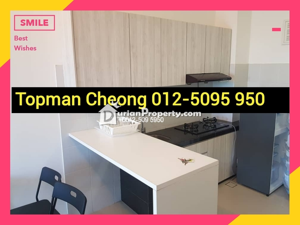 Condo For Rent at Desa Green Serviced Apartments, Taman Desa