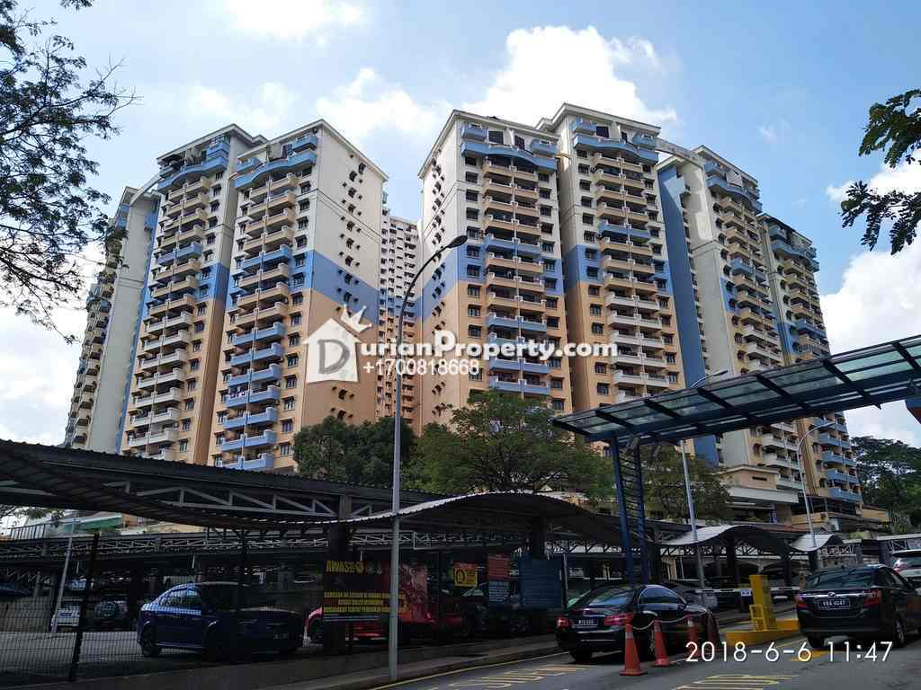 Condo For Auction at Vista Komanwel, Bukit Jalil