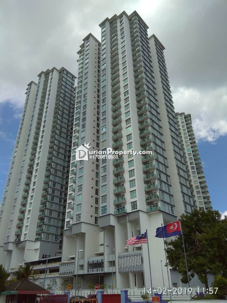 Condo For Auction at Taman Larkin Perdana, Johor Bahru