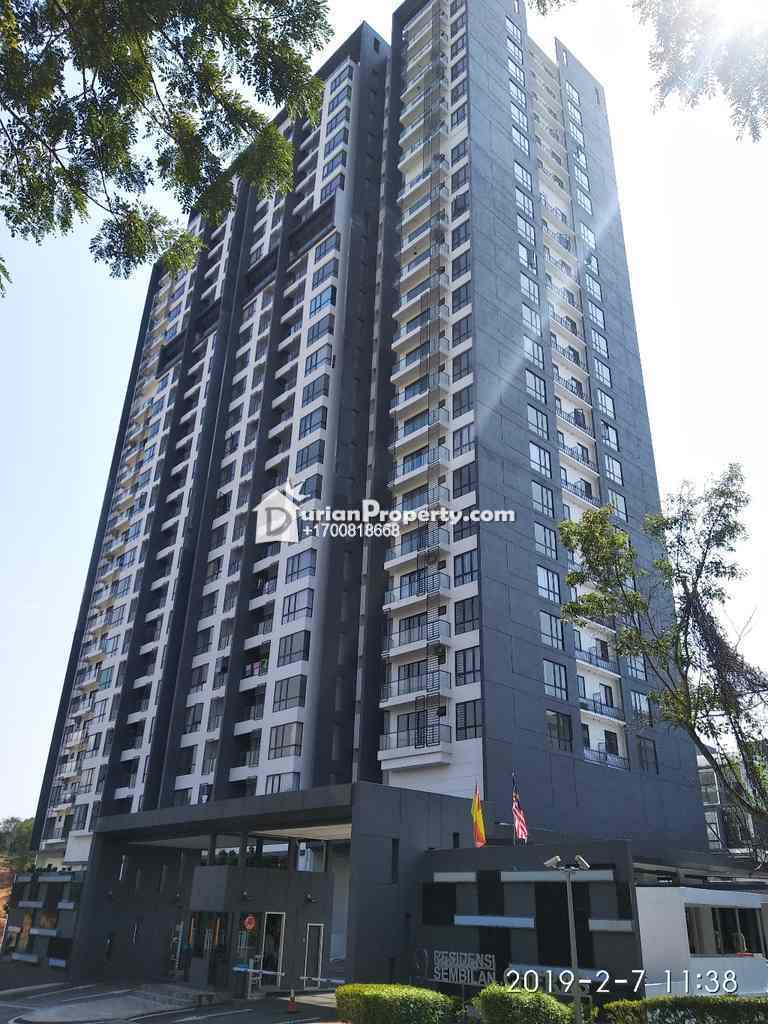 Condo For Auction at Residensi Sembilan Cheras, Cheras South