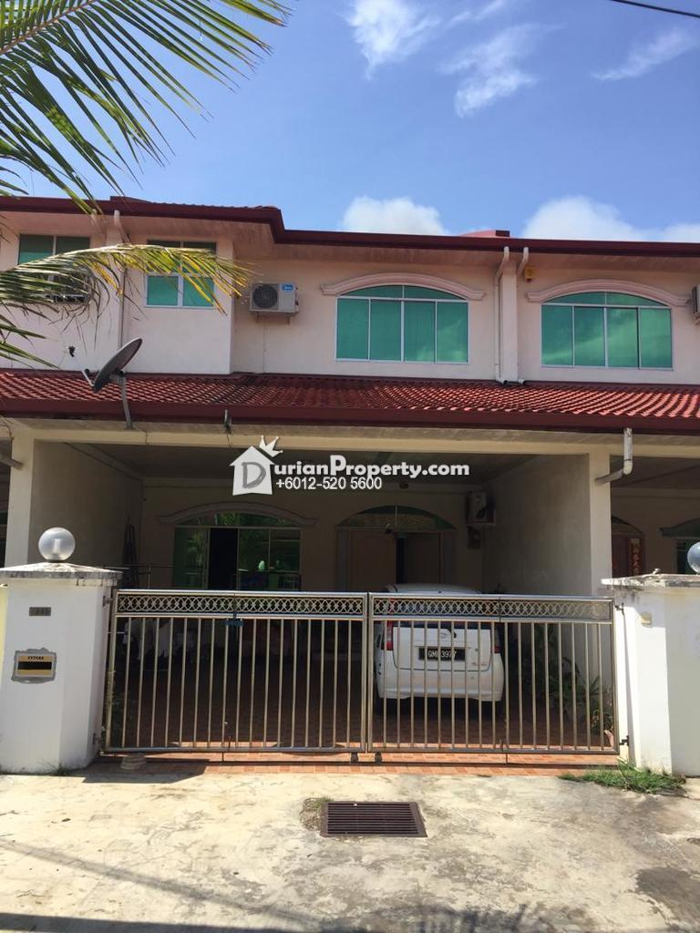Terrace House For Auction at Kuala Baram, Sarawak