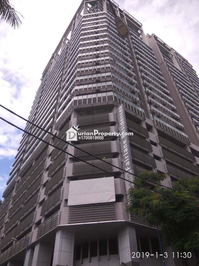 Apartment For Auction at Bintang Fairlane Residences, Bukit Bintang