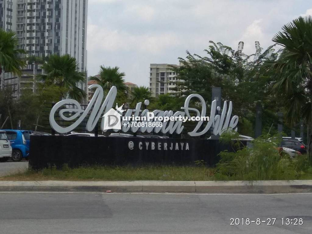 Condo For Auction at Mutiara Ville, Cyberjaya