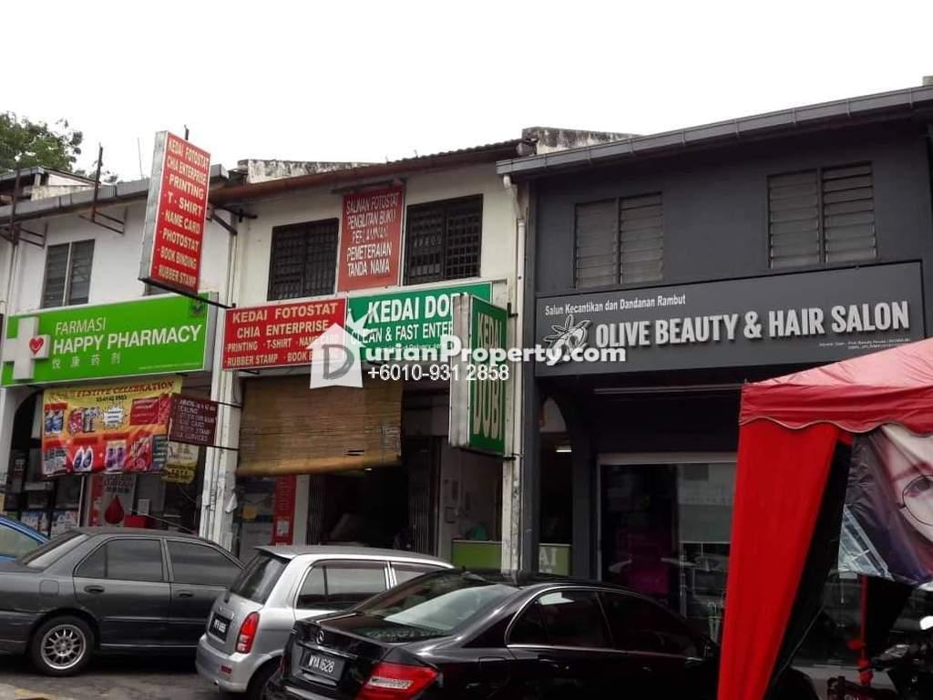 Shop For Rent at Desa Setapak, Setapak