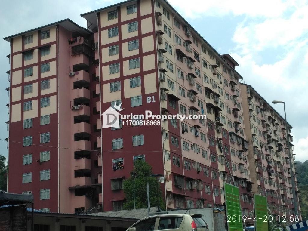 Apartment For Auction at Pangsapuri Desa Lembah Permai, Ampang