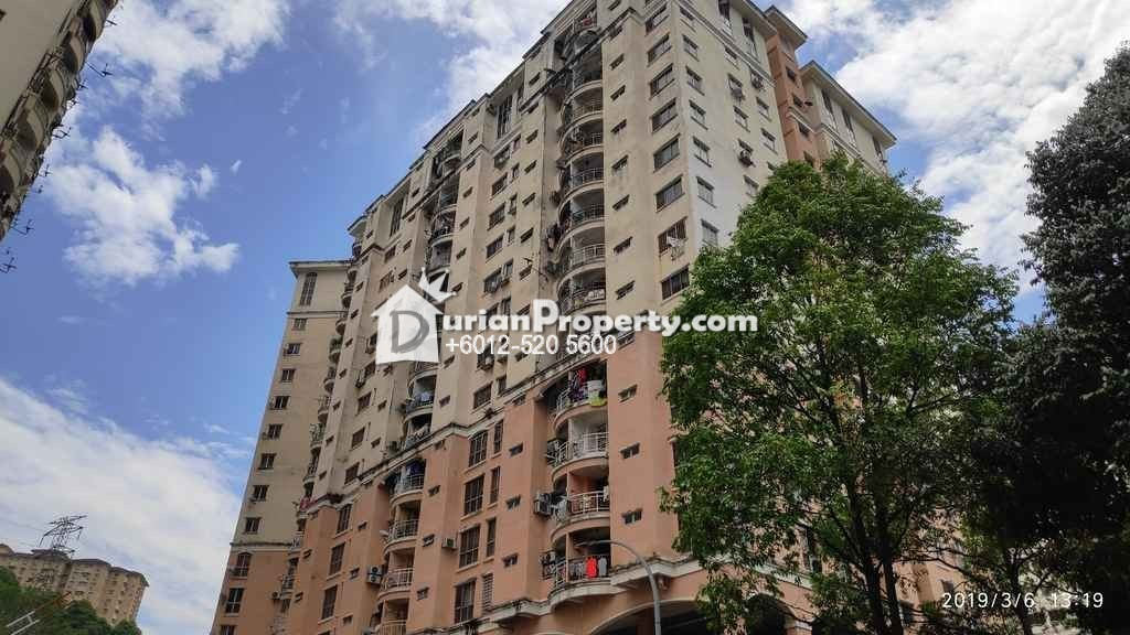 Apartment For Auction at Vista Saujana, Kepong