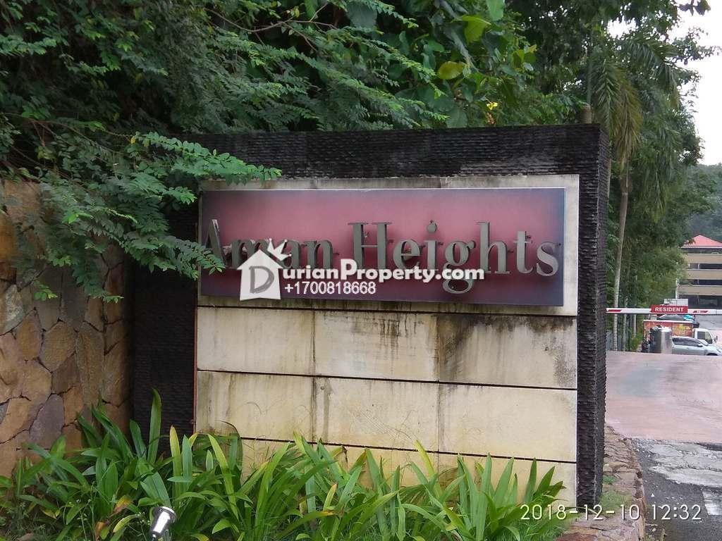 Condo For Auction at Aman Heights, Seri Kembangan