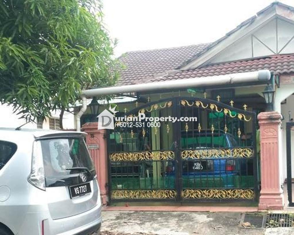 Terrace House For Auction at Taman Velox, Rawang