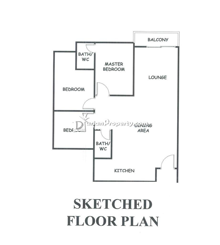 Apartment For Auction at Apartment Saujana Permai 2, Kajang
