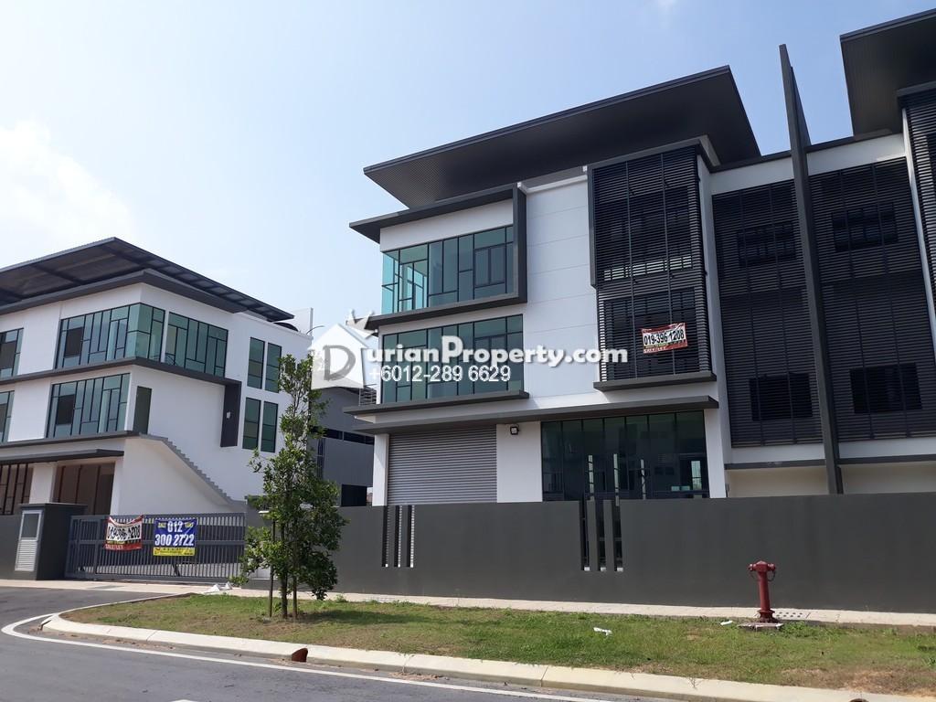 Semi-D Factory For Rent at Kota Puteri, Selangor