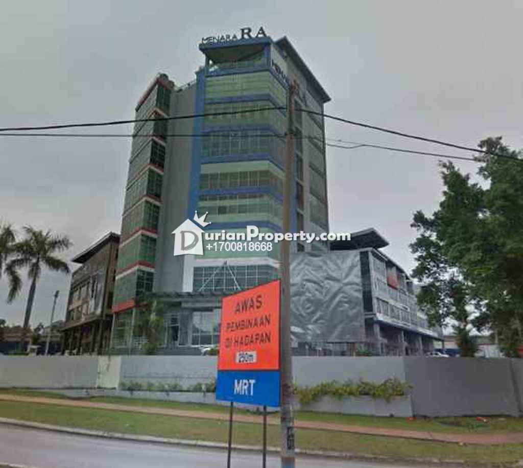 Office For Auction at Menara RA, Bandar Sri Damansara