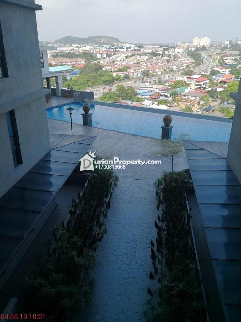 Apartment For Auction at Silk Sky, Balakong
