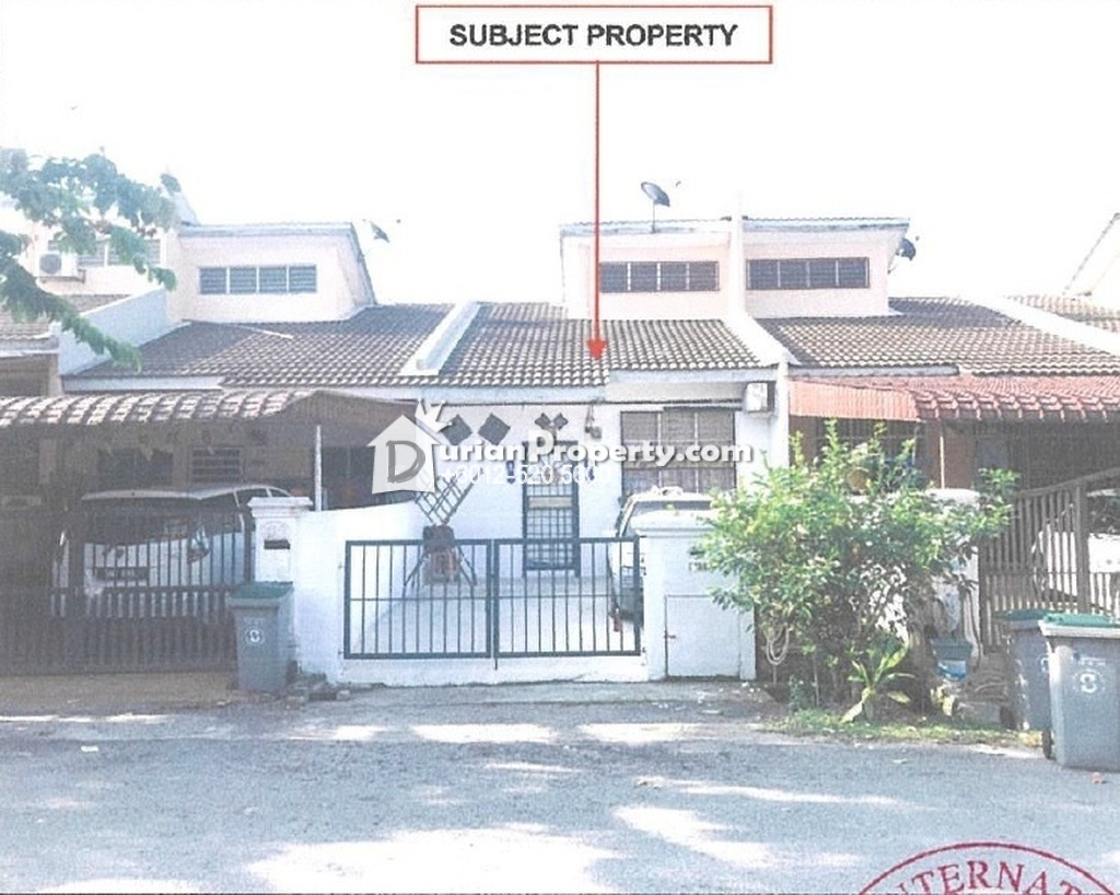 Terrace House For Auction at Taman Desaria, Nilai