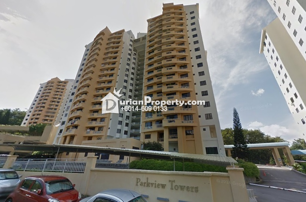 Condo For Rent at Parkview Towers, Bukit Jambul