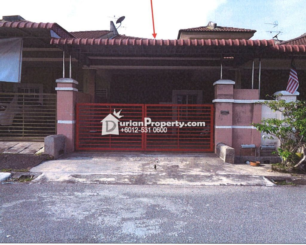 Terrace House For Auction at Tanjong Rambutan, Ipoh
