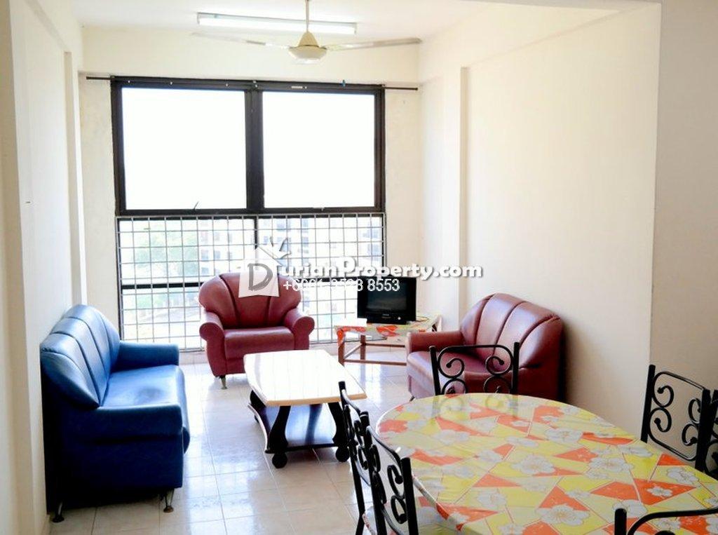 Apartment For Rent at Pangsapuri Bukit Beruang Utama, Melaka