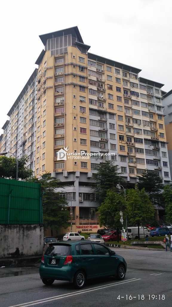 Apartment For Auction at Taman Bukit Pelangi, Subang Jaya