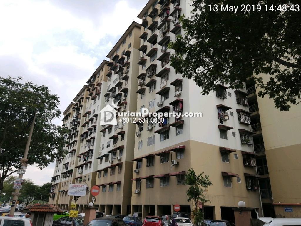 Flat For Auction at Taman Sentul Utama, Sentul