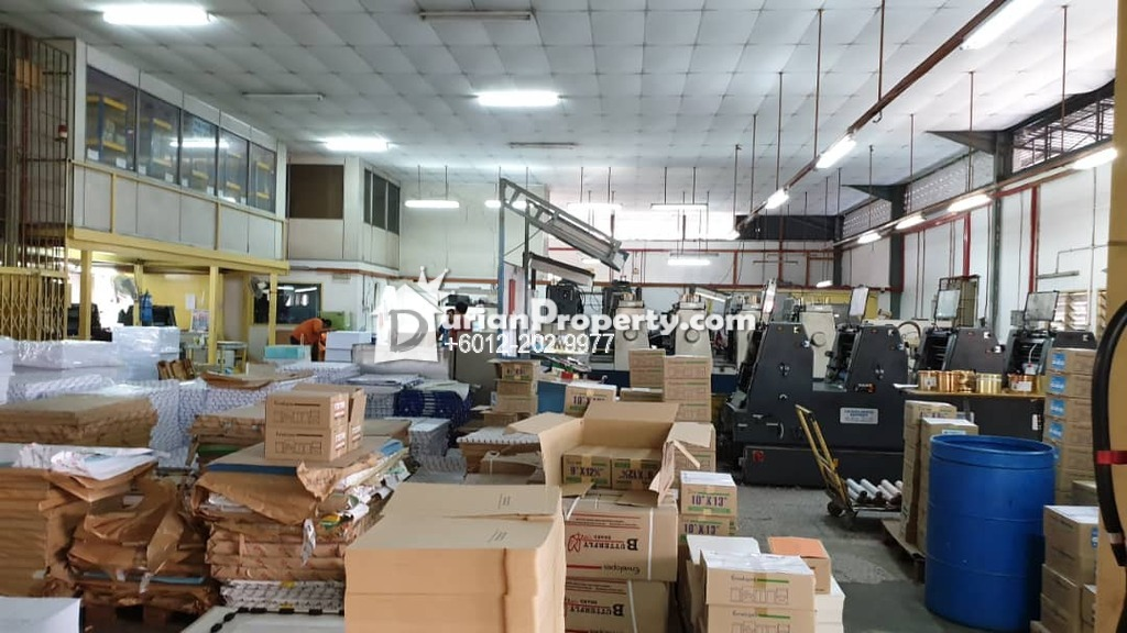 Semi-D Factory For Sale at Taman Midah Apartment, Taman Midah