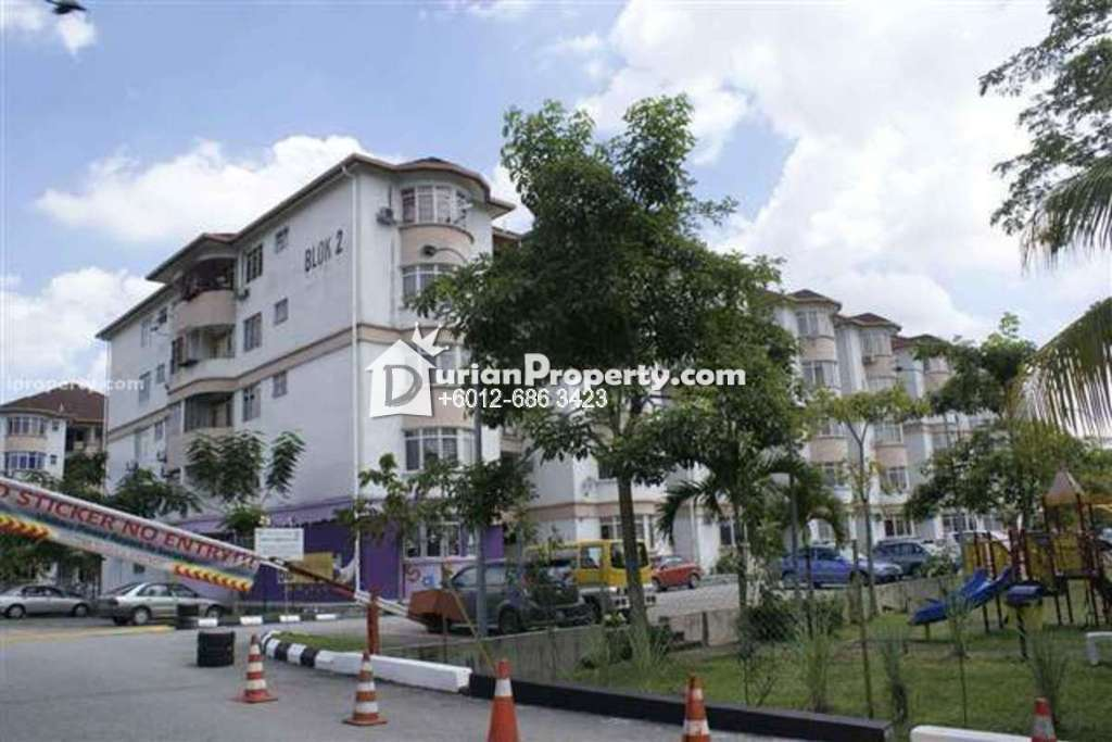 Apartment For Sale at Dahlia Court Apartment, Pandan Indah