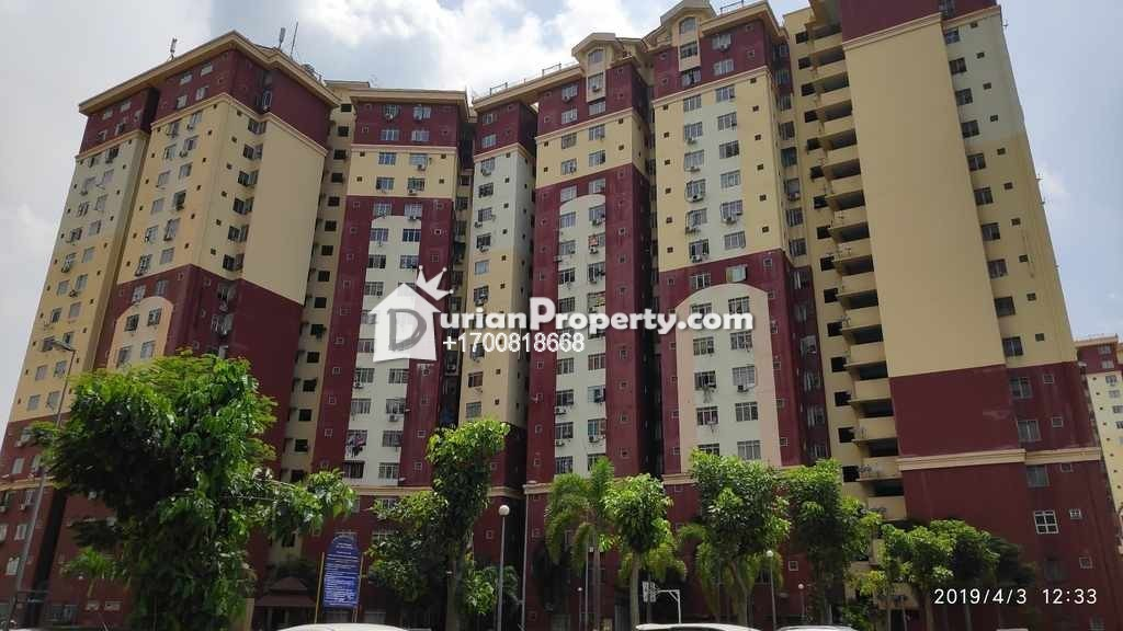 Flat For Auction at Desa Mentari, Petaling Jaya