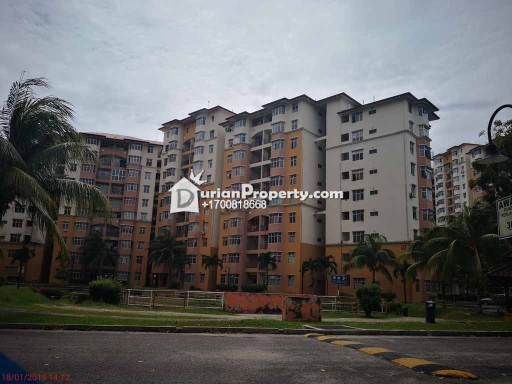 Apartment For Auction at Sri Palma Villa, Mantin