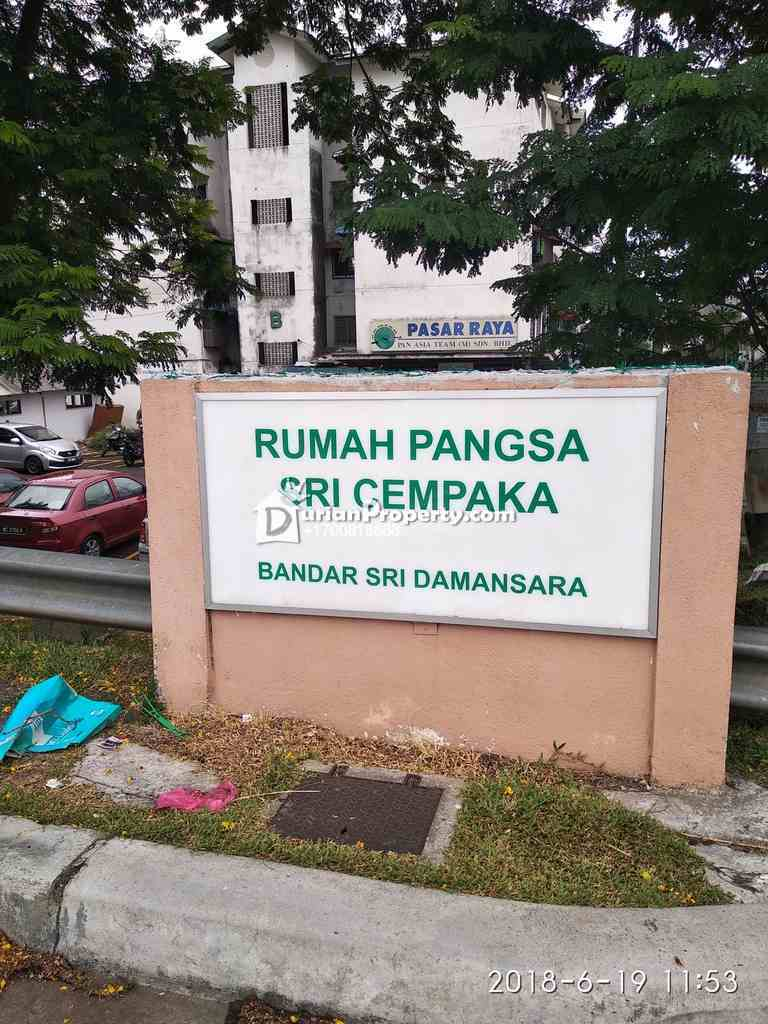Flat For Auction at Sri Cempaka Flat, Bandar Sri Damansara