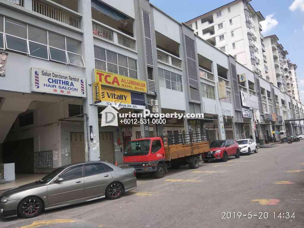 Shop Office For Auction at Taman Fadason, Kepong