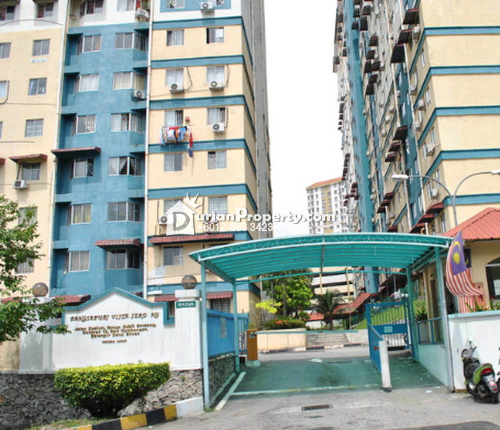 Apartment For Sale at Pangsapuri Vista Serdang, Taman Bukit Serdang