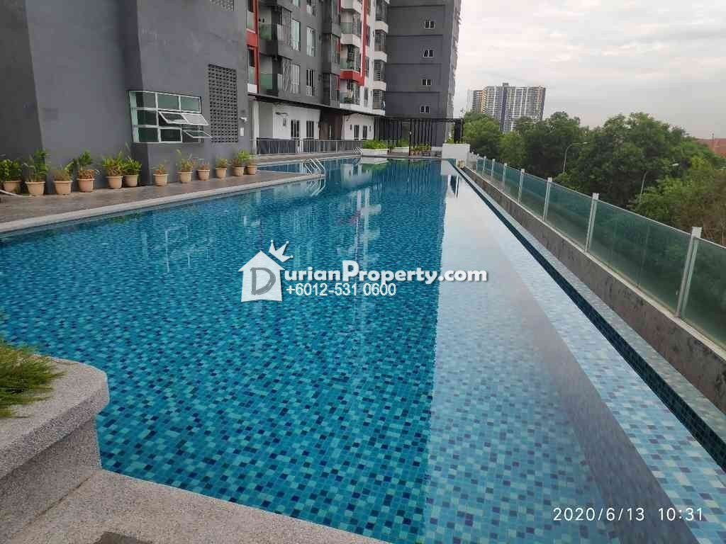 Apartment For Auction at Silk Residence, Balakong