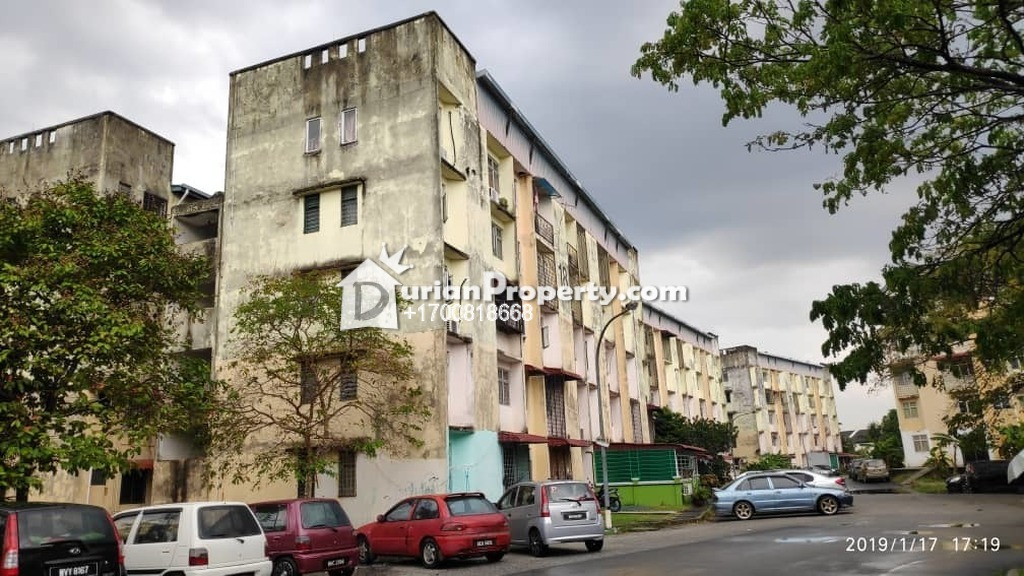 Apartment For Auction at Rista Villa Apartment, Taman Putra Perdana