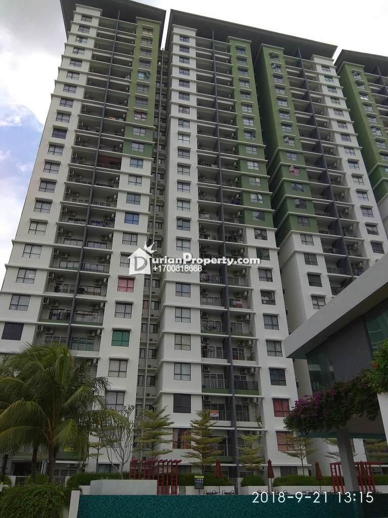Condo For Auction at Ivory Residence @ Mutiara Heights Kajang, Kajang