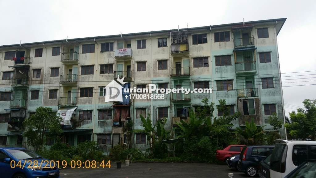 Apartment For Auction at Taman Orchidwood, Kuching