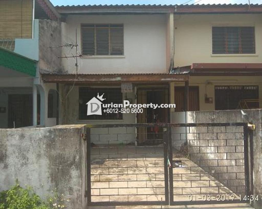 Terrace House For Auction at Taman Cempaka, Ipoh