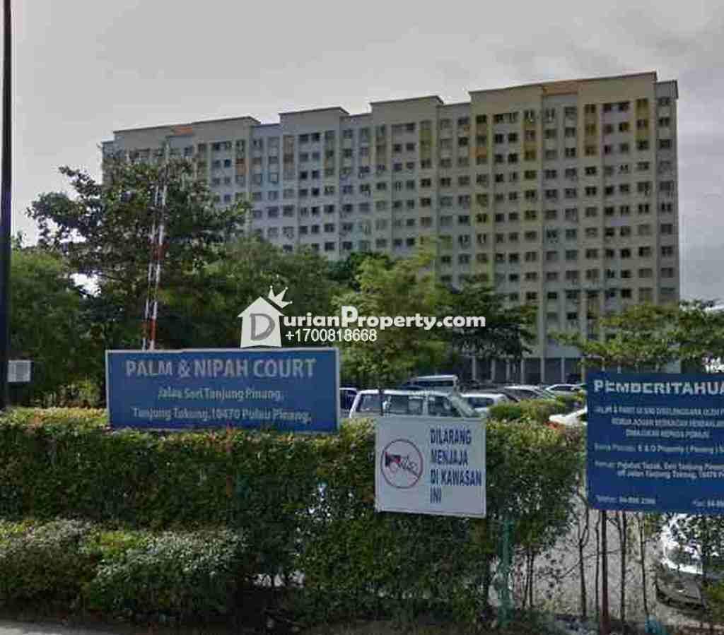 Flat For Auction at Palm Court, Seri Tanjung Pinang