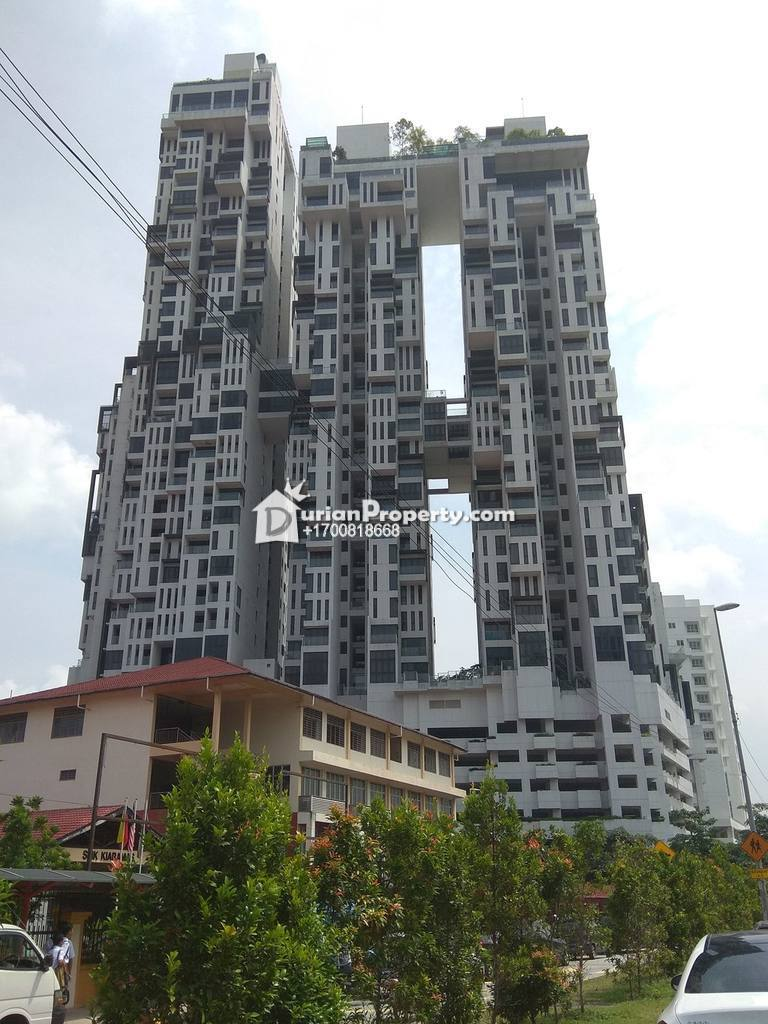 Apartment For Auction at Icon Residence, Dutamas