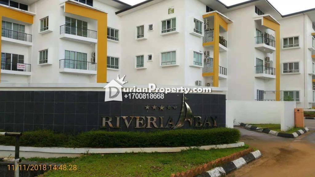Apartment For Auction at Riveria Bay, Kota Samarahan