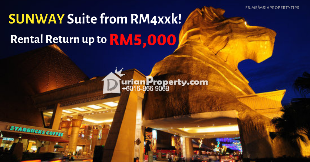 Serviced Residence For Sale at Sunway Pyramid, Bandar Sunway