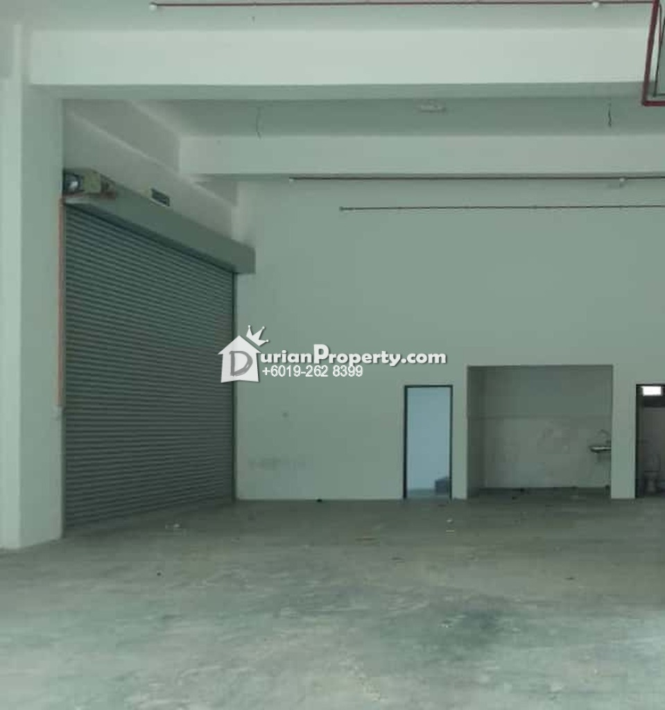 Semi-D Factory For Sale at Taman Perindustrian KIP, Kepong