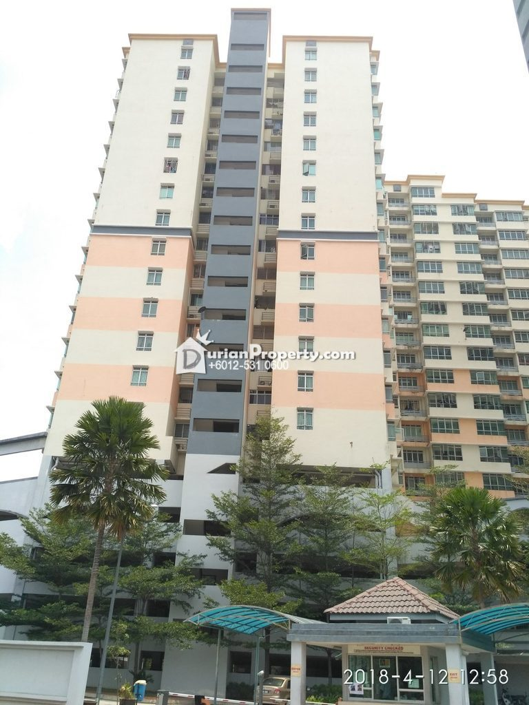 Apartment For Auction at Mutiara Anggerik, Shah Alam
