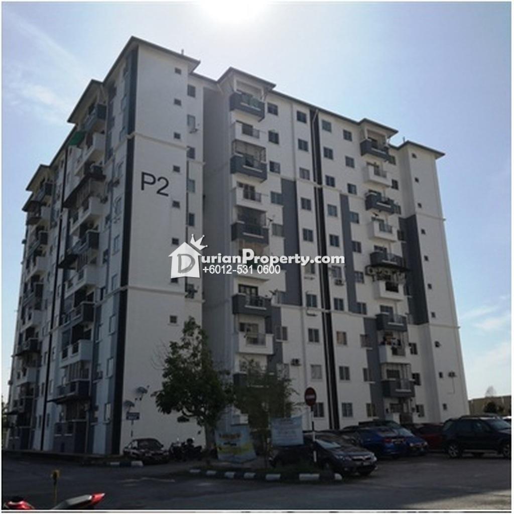 Apartment For Auction at Perdana Park, Bandar Tasik Puteri
