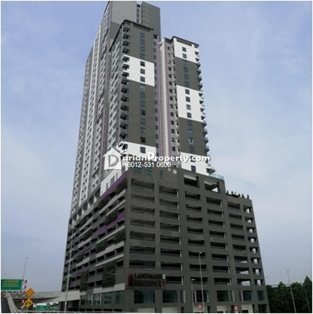 Apartment For Auction at Landmark Residences, Bandar Sungai Long