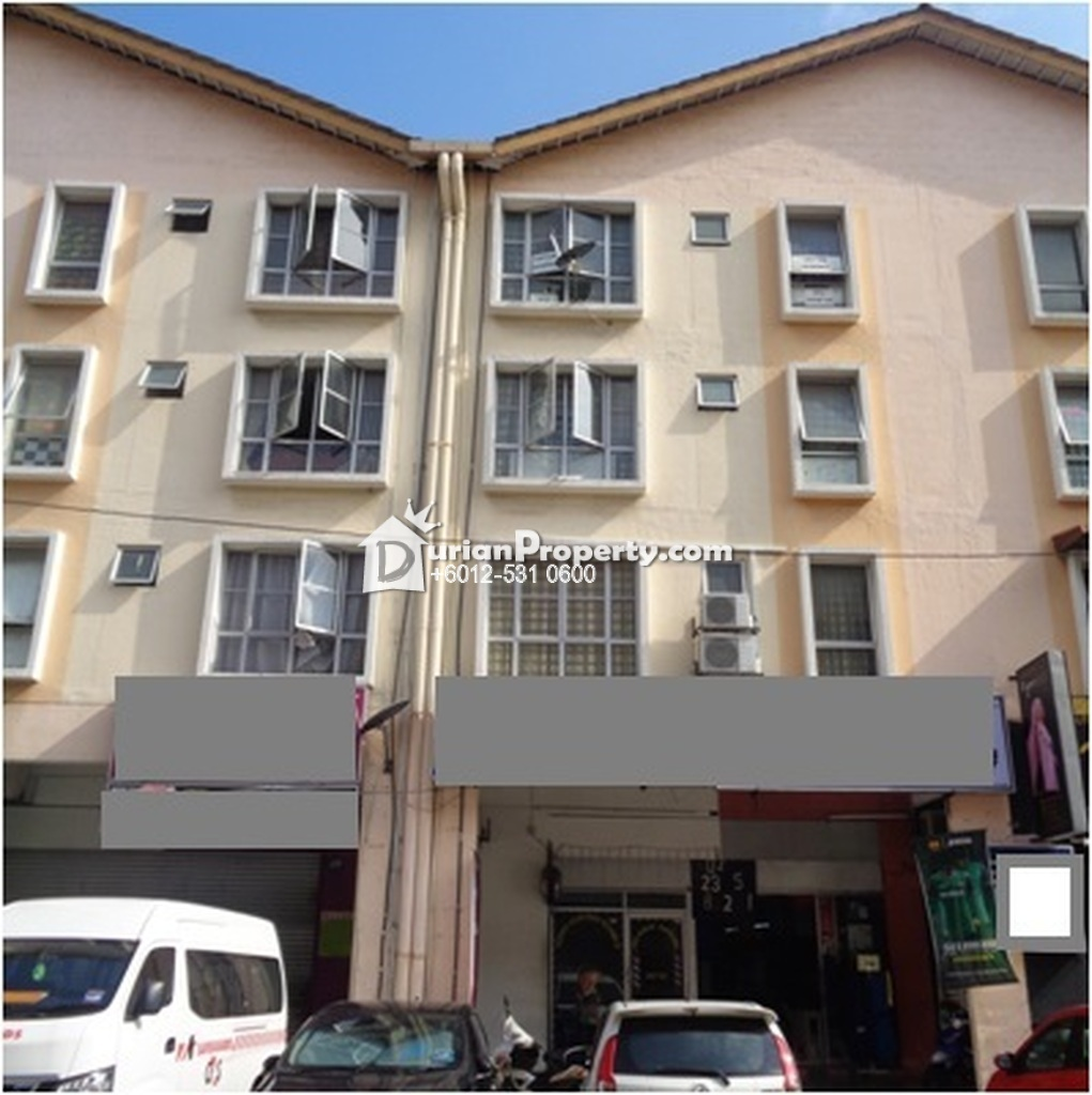 Shop Apartment For Auction at Section 7, Shah Alam