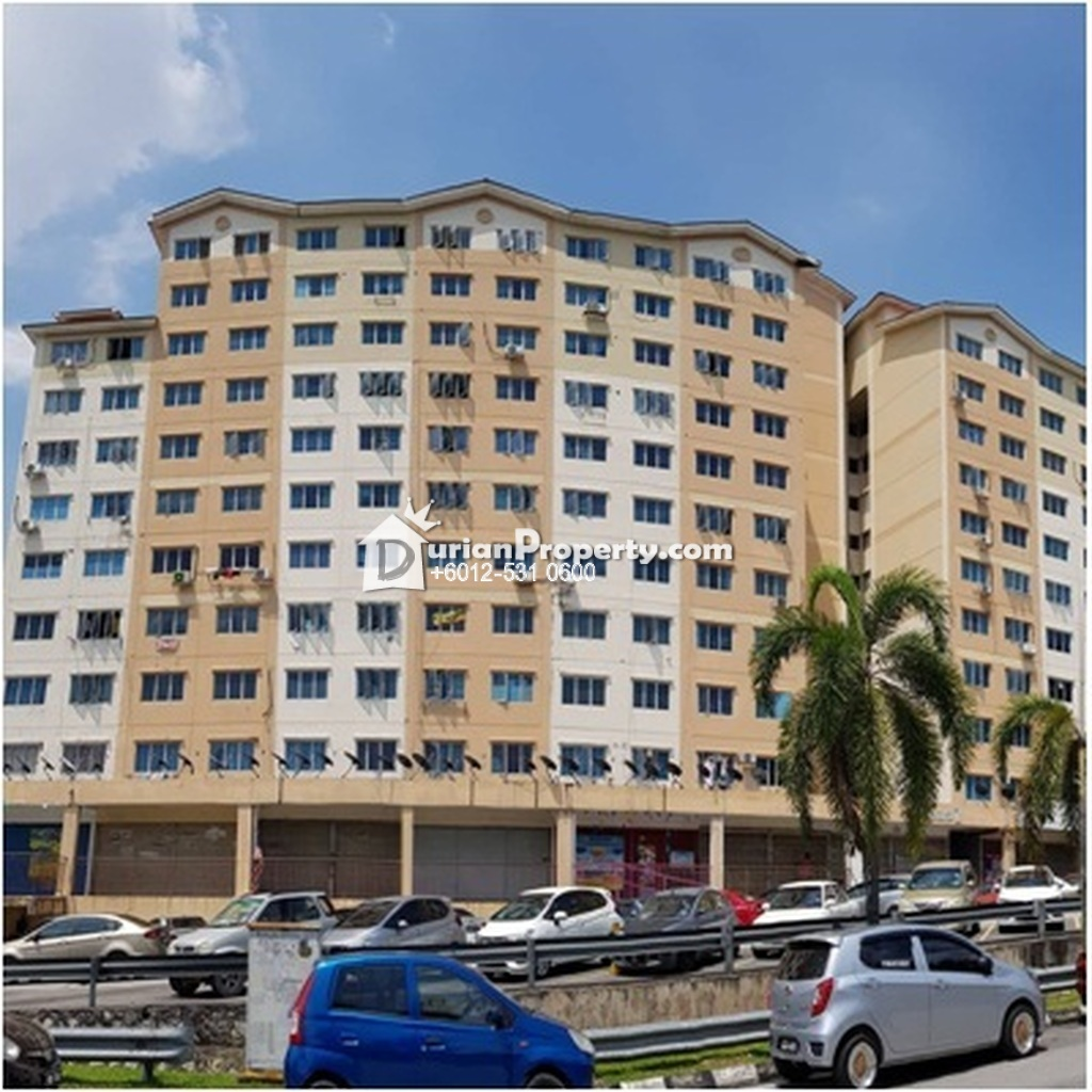 Apartment For Auction at Bukit Segar Jaya, Cheras