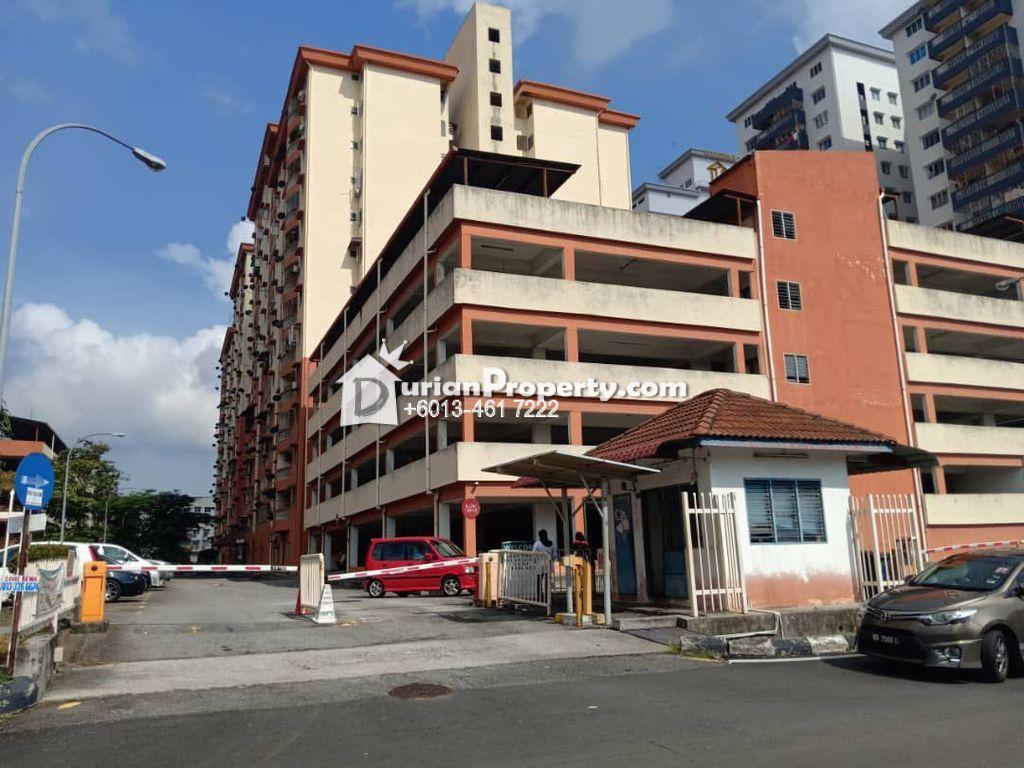 Apartment For Sale at Sri Ria Apartment, Kajang