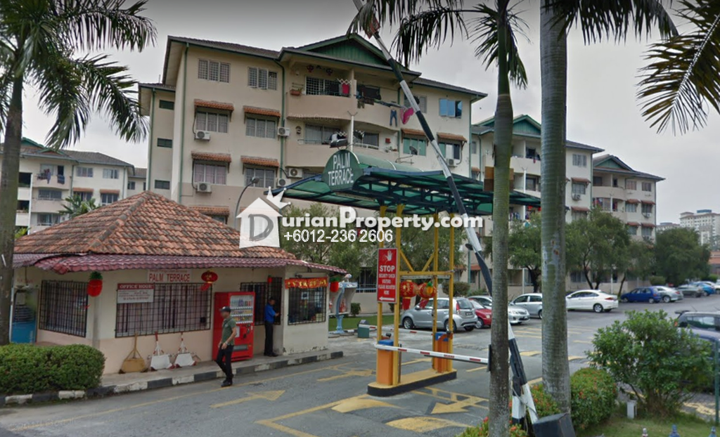 Apartment For Sale at Palm Terrace, Bandar Kinrara