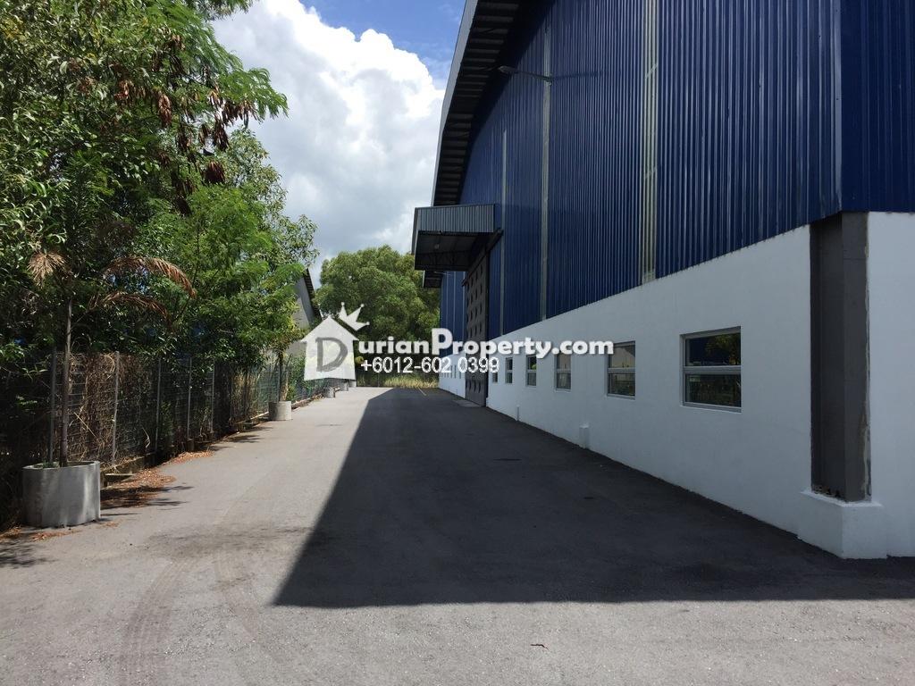 Semi-D Factory For Sale at Taman Perindustrian Bukit Kemuning, Shah Alam