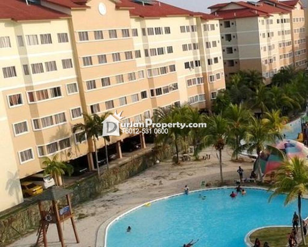 Apartment For Auction at Tiara Beach Resort, Port Dickson
