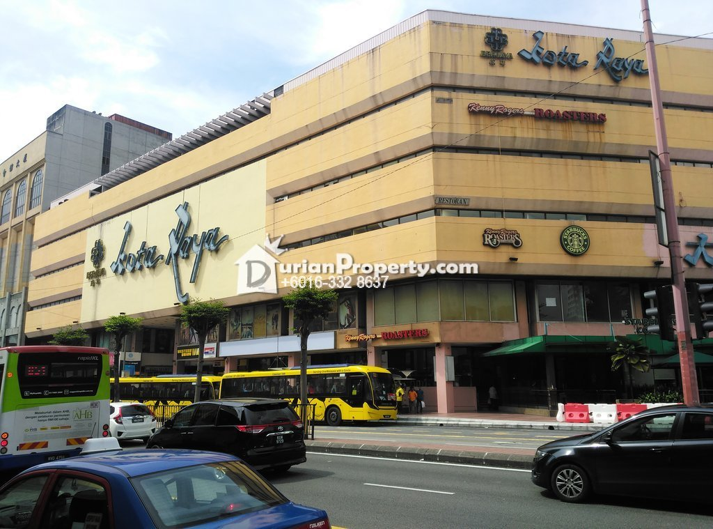 Retail Space For Rent at Kota Raya, Pudu